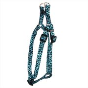 Yellow Dog Design SI-LTL100XS Leopard Teal Step-In Harness - Extra Small