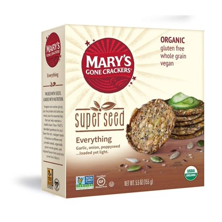 Mary's Gone Crackers Super Seed Everything, 5.5 Ounce 5.5 Ounce (1