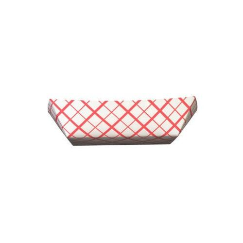 Sct Paper Food Baskets, 2.5lb, Red/white SCH0421