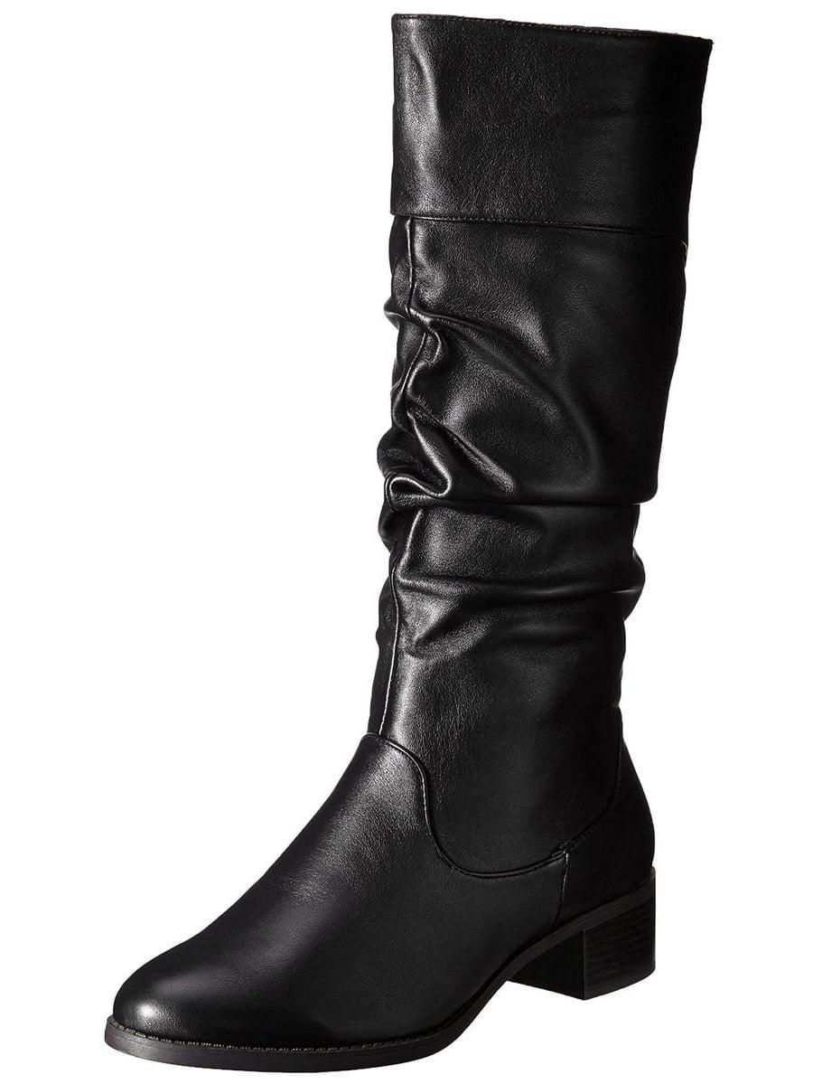 Easy Street Cheyenne Women's Black Slouch Boot by Easy Street