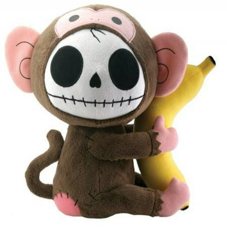 Munky Monkey Furry Bones Plush Stuffed Animal Doll, Large](Ninja Monkey Bones)