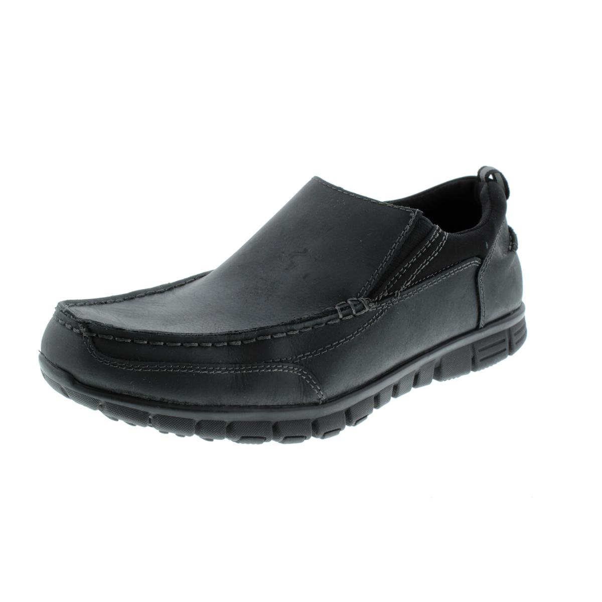 Dr Scholl's Mens Slide Leather Work Casual Shoes by Dr Scholl's