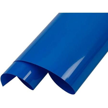 "INTBUYING 20"" 5 Yard PU Vinyl Cutter Plotter DIY Heating Press Transfer T-shirts Blue - image 1 of 1"