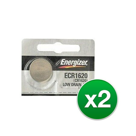 Replacement Battery for Energizer ECR1620 (2-Pack) Replacement Battery ()