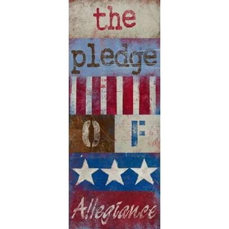 The Pledge of Allegiance Poster Print by  Kingsley - Item # VARPDX8640 ()
