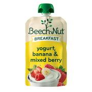 Beech-Nut Breakfast Stage 4, Yogurt Banana & Mixed Berry Baby Food, 3.5 oz Pouch