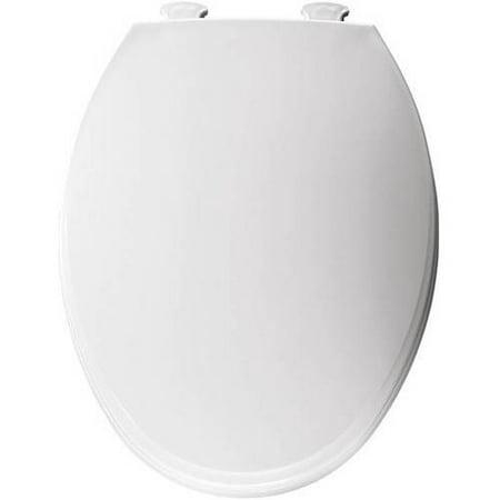 Church 130ec Lift Off Plastic Elongated Toilet Seat