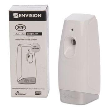 4510014264187 Skilcraft Zep Meter Mist 3000 Odor Control Dispenser, Wh