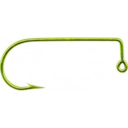 Mustad 32755 Aberdeen Jig Classic Hook, 90 Degree Bend 1 Extra Strong,  Short Shank - 1000 Per Pack
