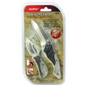 Ampro Tools AMPT19487 2 Piece Folding, Liner-Lock Includes 4.75 & 7.25 in. Knives Knife Set