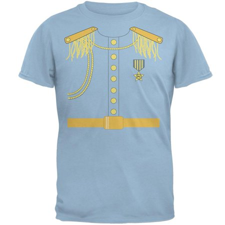 Halloween Prince Charming Costume Light Blue Adult T-Shirt - Prince Jacket Costume