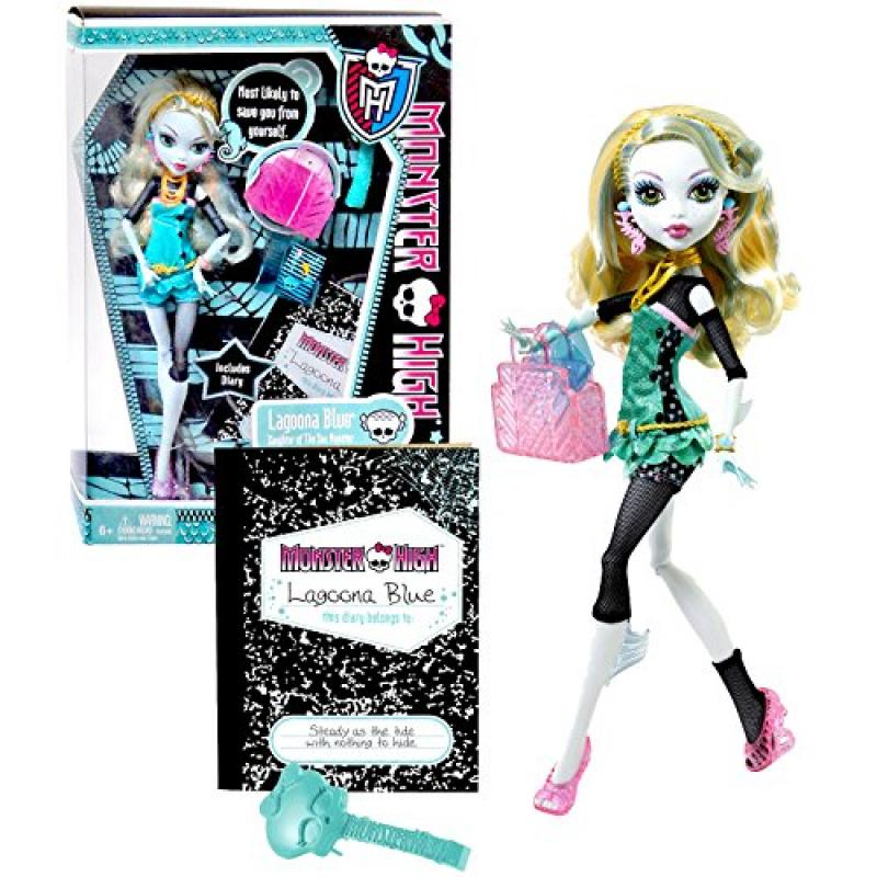 "Mattel Year 2011 Monster High Diary Series 10 Inch Doll Lagoona Blue ""Daughter of The... by"