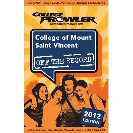 College of Mount Saint Vincent 2012 - eBook