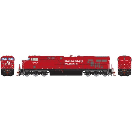 Athearn HO ES44AC with DCC & Sound CPR with PTC #8740, ATHG83127