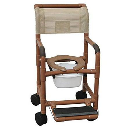 Mjm International 118 5 Ff Shower Chair 18 In