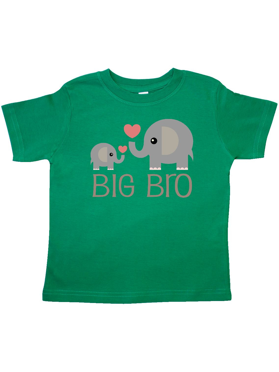 Big Bro Boys Elephant Brother Announcement Toddler T-Shirt