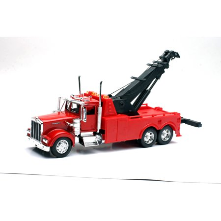 1:32 Scale Die-Cast Peterbilt 379 Tow Truck - Hoppy Tow Vehicle