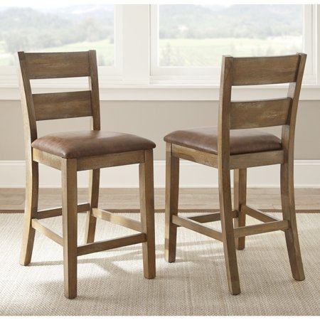 Greyson Living Chaffee 24-inch Counter-height Chair (Set of 2)  by  - 39 inches high x 18 inches wide x 21 inches