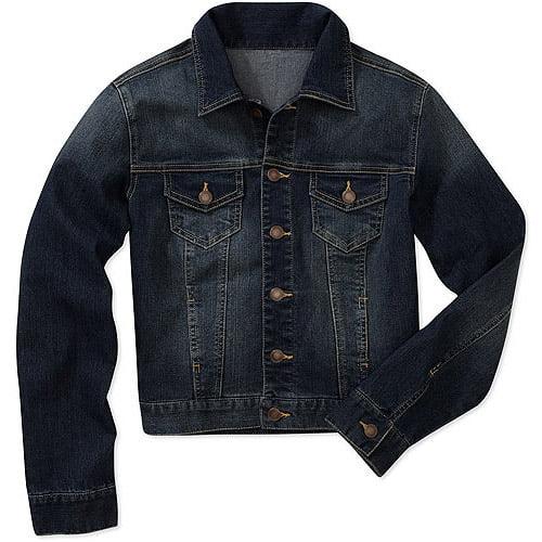 Faded Glory Women's Plus-Size Classic Denim Jacket