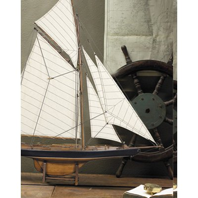 Authentic Models American's Cup Columbia 1901 Yacht - Small
