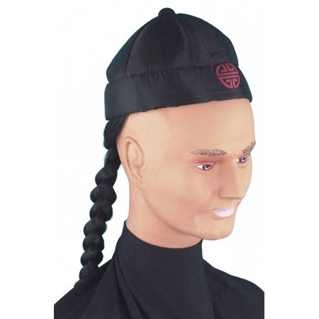 Chinese Man's Pigtail Hat