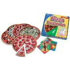 Learning Resources 077-9604 Pizza Fraction Fun Game