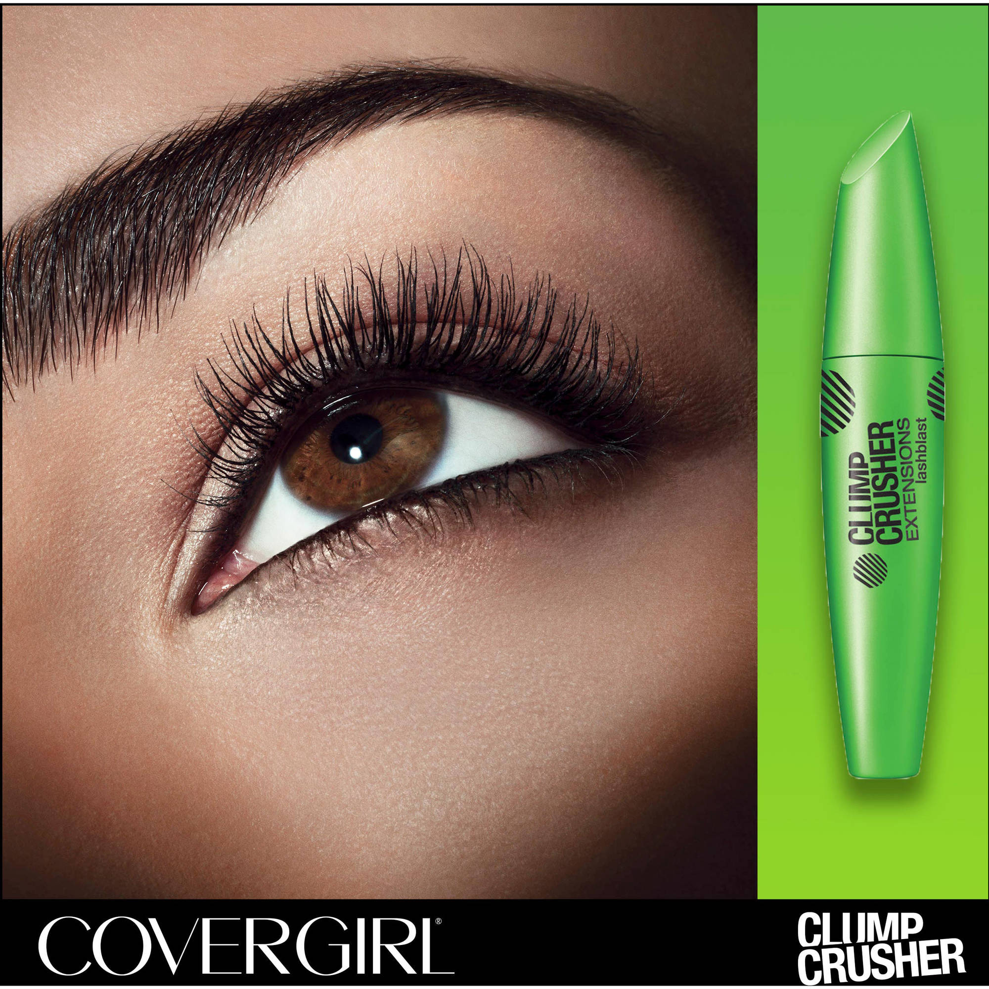 32103492324 COVERGIRL Clump Crusher Extensions Mascara, 840 Very Black - Walmart.com