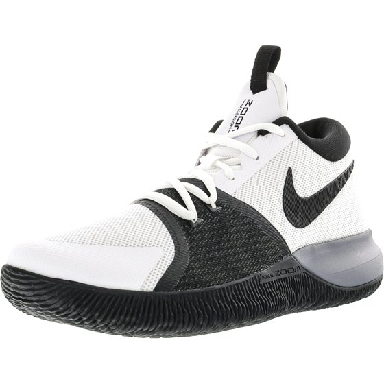 4c7e54ebf083 ... available 977f7 4eef7 Nike Mens Zoom Assersion Black Total Crimson -  White Ankle-High Running ...