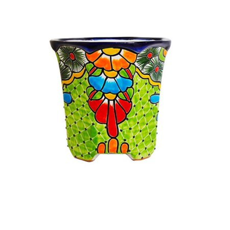 Excellent World Menagerie Wisteria Hexagonal Talavera Table Vase Machost Co Dining Chair Design Ideas Machostcouk