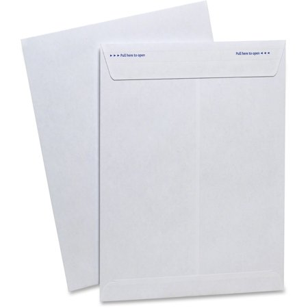 TOPS, TOP73127, Gold Fibre Fastrip Side Seam Catalog Envlopes, 100 / Box, (White Self Sealing Catalog Envelopes)