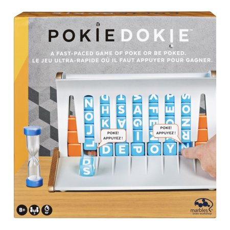 Pokie Dokie Game by Marbles Brain Workshop, Fast-Paced Word Building Game for Kids and Adults Aged 8 and Up ()
