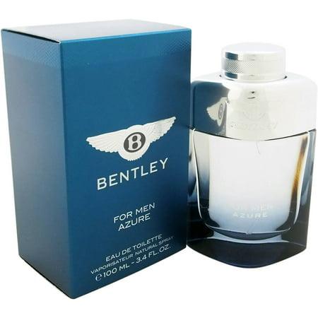 Bentley Azure For Men Eau De Toilette Natural Spray  3 4 Fl Oz