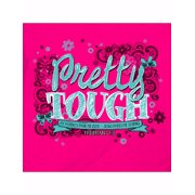 Tee Shirt-Pretty Tough (Youth)-Large-Hot Pink