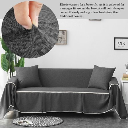 HURRISE Comfortable Sofa Couch Cover Chair Throw Mat Furniture Protector  Slipcover, Furniture Cover, Couch Cover