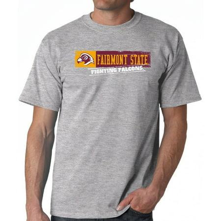 J2 Sport Fairmont State Falcons NCAA Sticker Unisex T-shirt (Fairmont Mn)