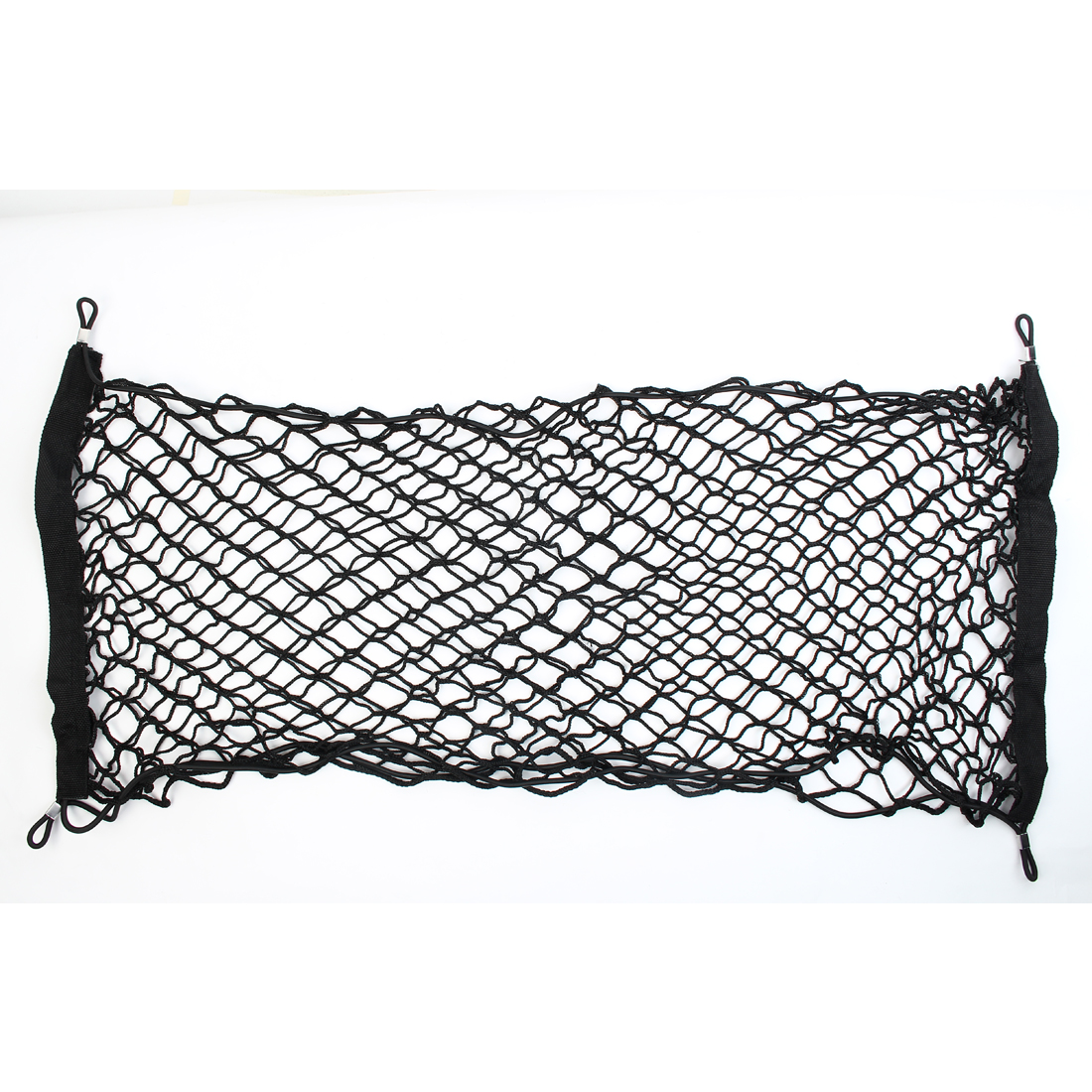 100cm x 60cm Black Car Auto Rear Trunk Cargo Luggage Mesh Net Holder