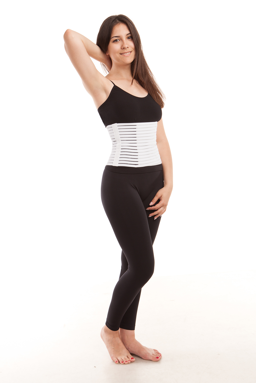 139a168614b8d GABRIALLA Breathable Abdomen Slimming Postpartum Belly Recovery Wrap Binder  AB-208(W) - Walmart.com