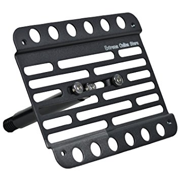 EOS License Plate Front Bumper Tow Mount Adapter Relocato...