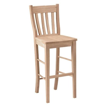 Ranch 30u0022 Stool - Unfinished - International Concepts