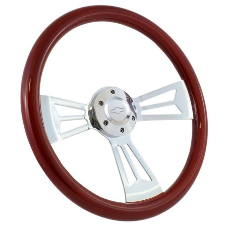 1974 - 1994 Chevy Pick Up C/K Series Wood Steering Wheel, Horn, Boss Kit - (3061 Series)