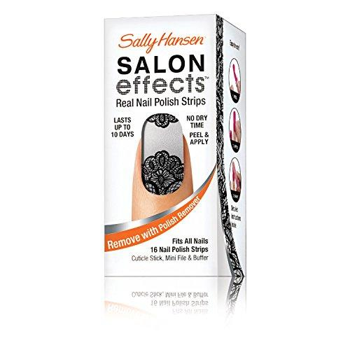 Sally Hansen Salon Effects Real Nail Polish Strips, Amazing Lace