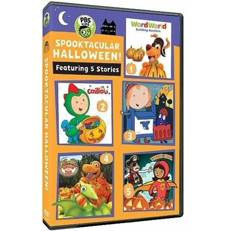 Pbs Kids: Halloween Fun - Spooktacular Halloween (DVD)