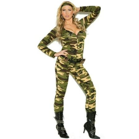 Adult Combat Warrior Plus Sexy Costume
