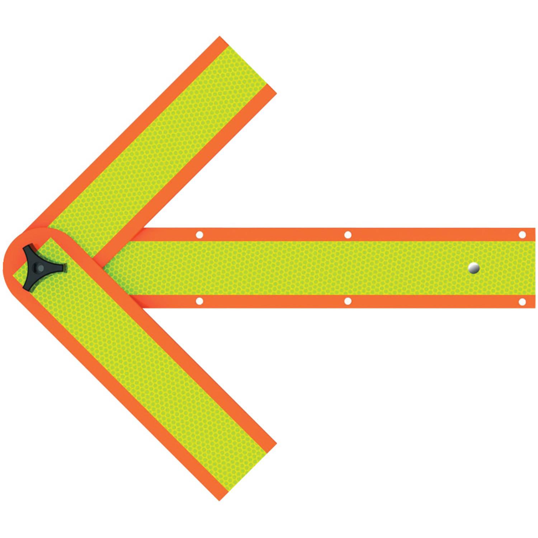 """Deflecto Sa-2034c 18"""" Safety Warning Arrow"""