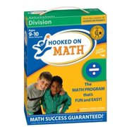 Hooked on Phonics Math Division for 3rd-5th Grade, Includes 3 Audio CDs + 6 Sets of Flashcards + Workbook + Games + More