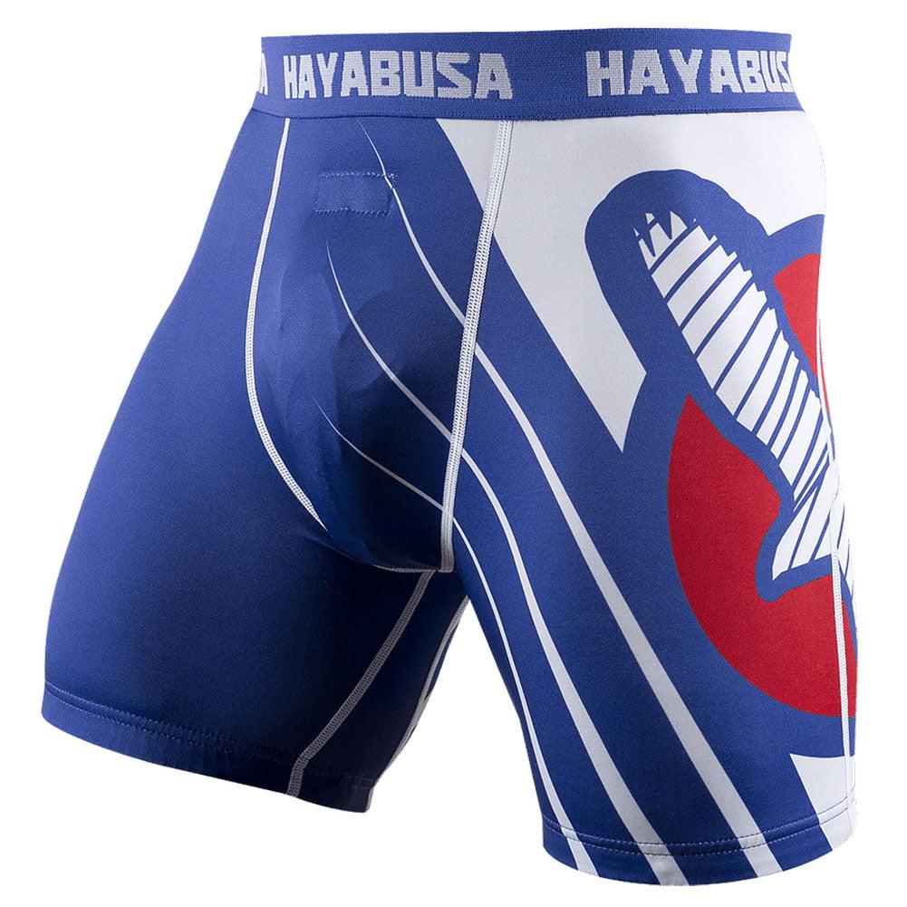 Hayabusa Recast Series Compression Shorts - XL - Blue/White