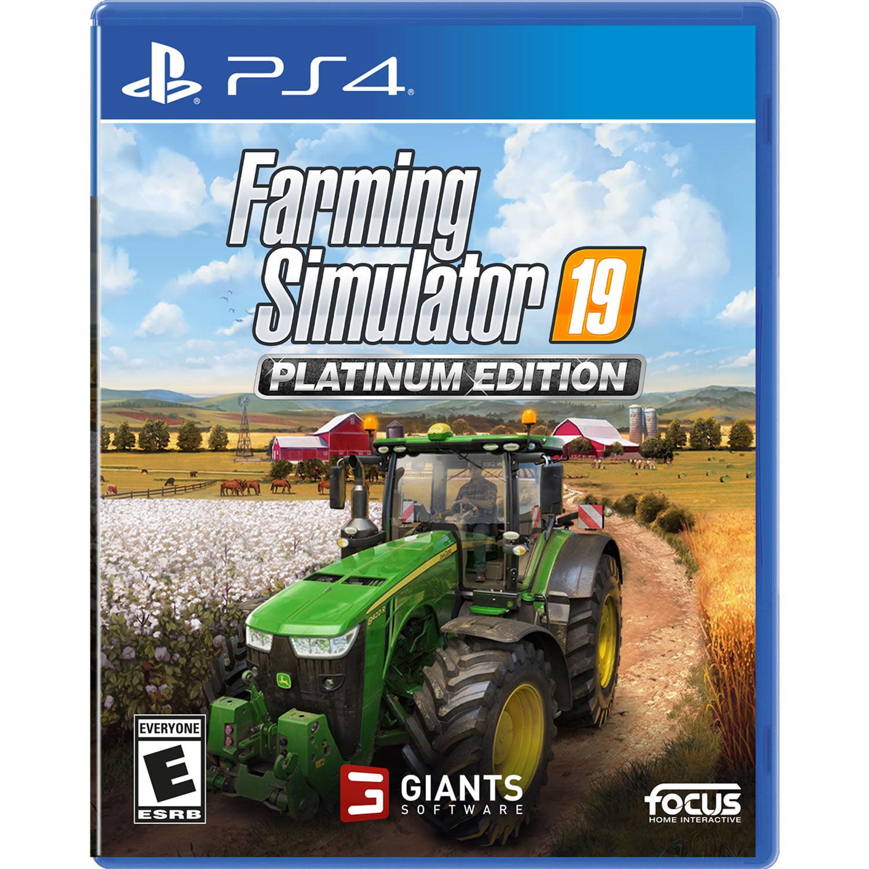 Farming Simulator 19 Platinum, Maximum Games, PlayStation 4, 859529007454