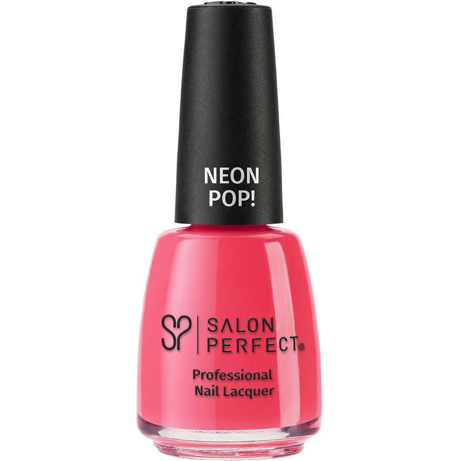 Salon Perfect Nail Polish, Oh Snap, Pink - Walmart.com