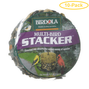 Birdola Multi-Bird Stacker Cake 6.4 oz - Pack of 10