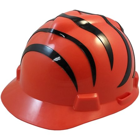 Cincinnati Bengals Safety Helmets with One Hand Adjustable Suspension - Bengals Helmet